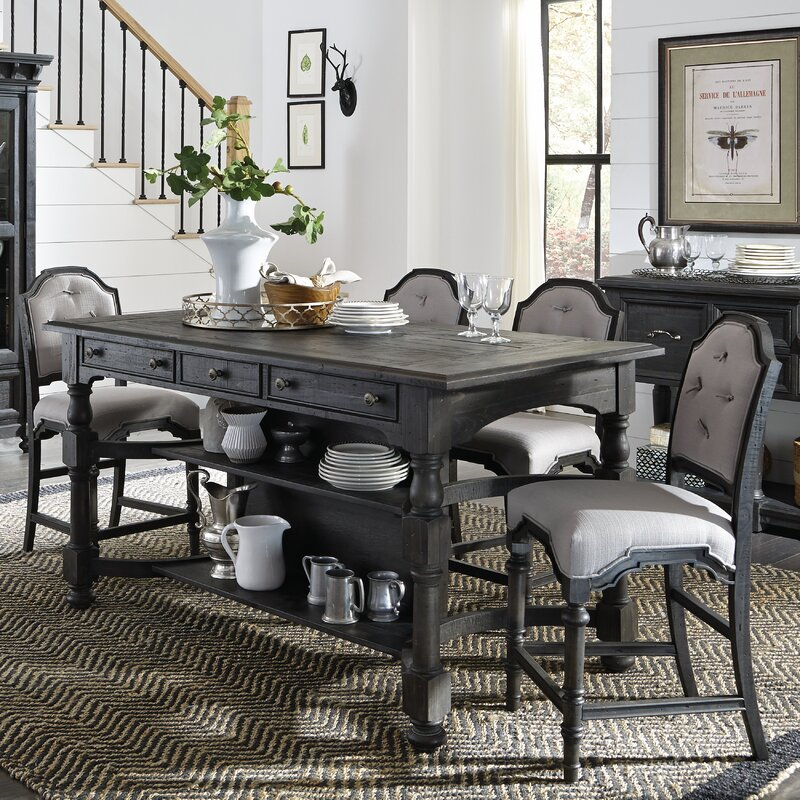 Attrayant Alona Rectangular Counter Height Pub Table