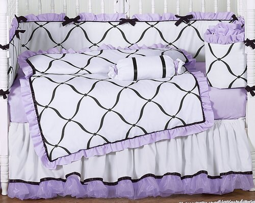 Princess 9 Piece Crib Bedding Set