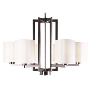 Whitfield Lighting Falcon 6-Light Shaded Chandelier