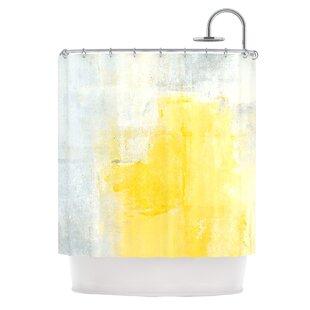 Stability by CarolLynn Tice Single Shower Curtain