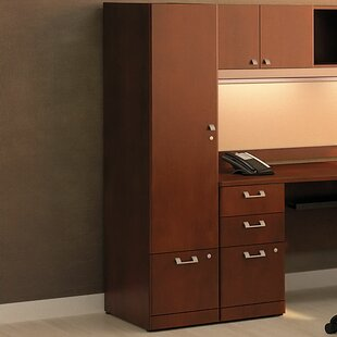 Quantum 1 Door Storage Cabinet by Bush Business Furniture