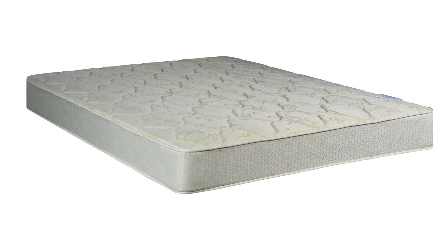spinal solution 8 firm innerspring mattress with box spring reviews wayfair. Black Bedroom Furniture Sets. Home Design Ideas