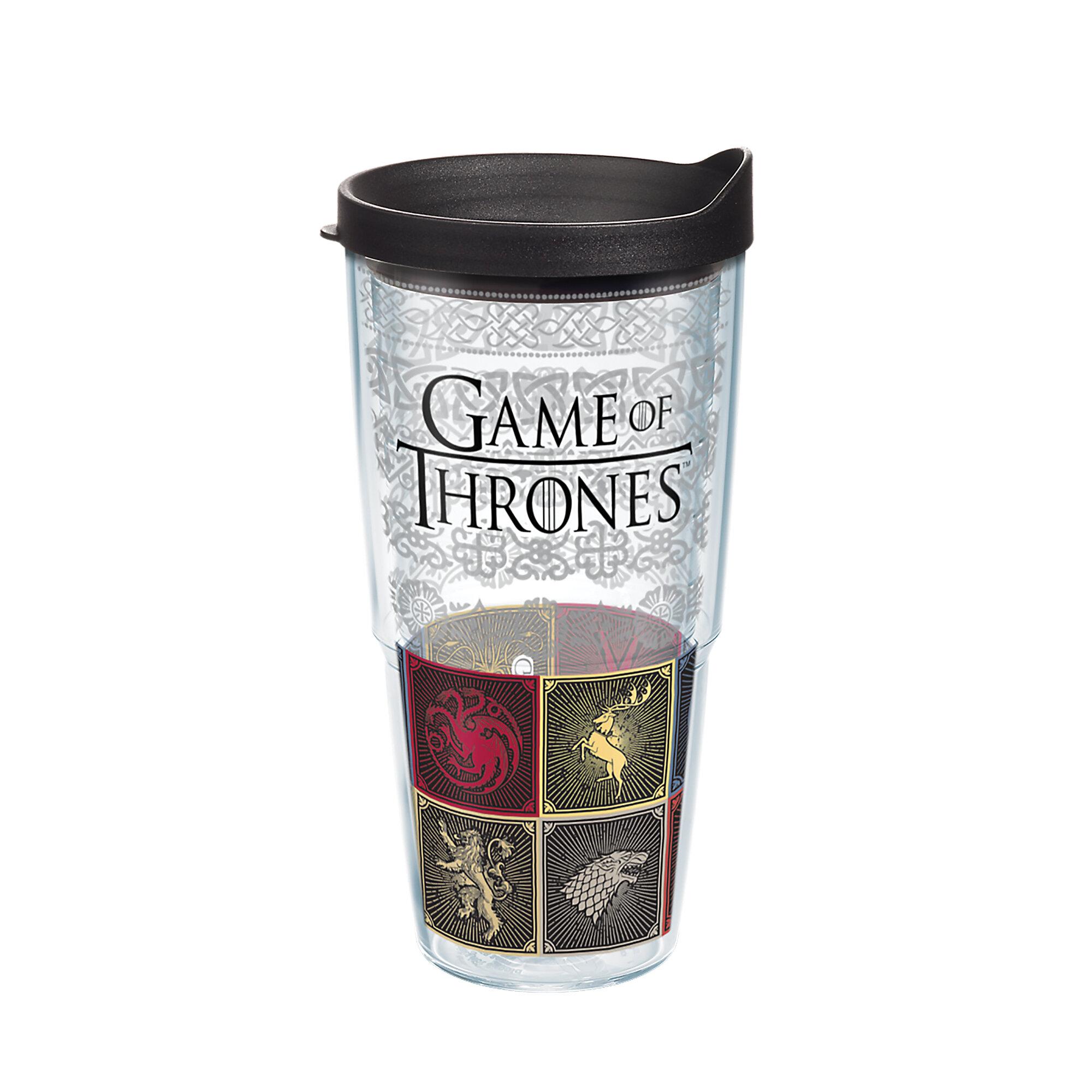 32379db80a1 Tervis Tumbler Game of Thrones House Sigils 24 oz Travel Tumbler | Wayfair