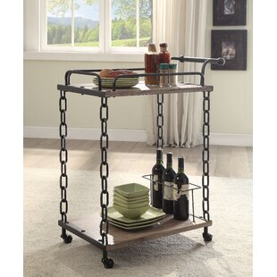 Trujillo Serving Bar Cart by Williston Forge