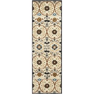 Marcello Hand-Tufted Wool Ivory Area Rug By Alcott Hill