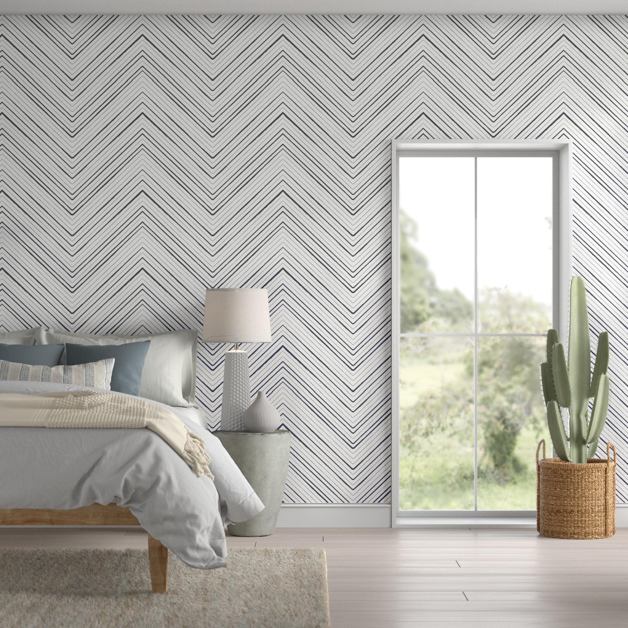 Mistana Summerdale Peel And Stick Wallpaper Panel Reviews Wayfair