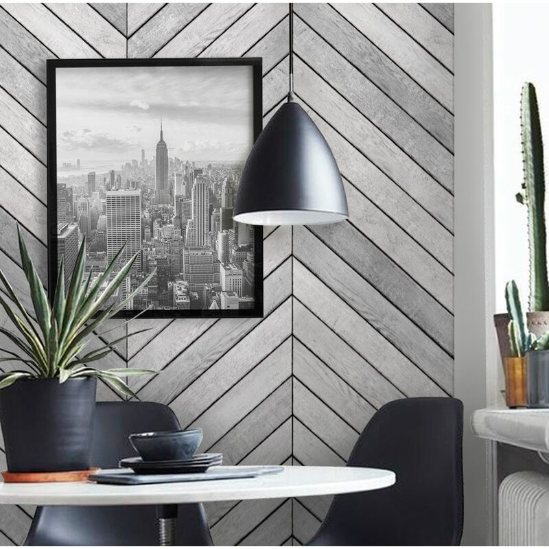 Malbon+Wood+Accent+2 Panel+Peel+and+Stick+Mural