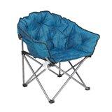 Rawles Folding Camping Chair with Cushion