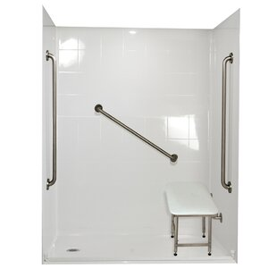 Ella Walk In Baths Standard Plus 36 Four Panel Shower Wall