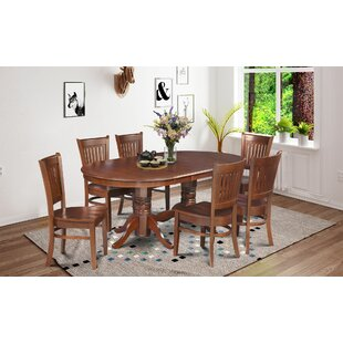Crigler 7 Piece Dining Set Breakwater Bay