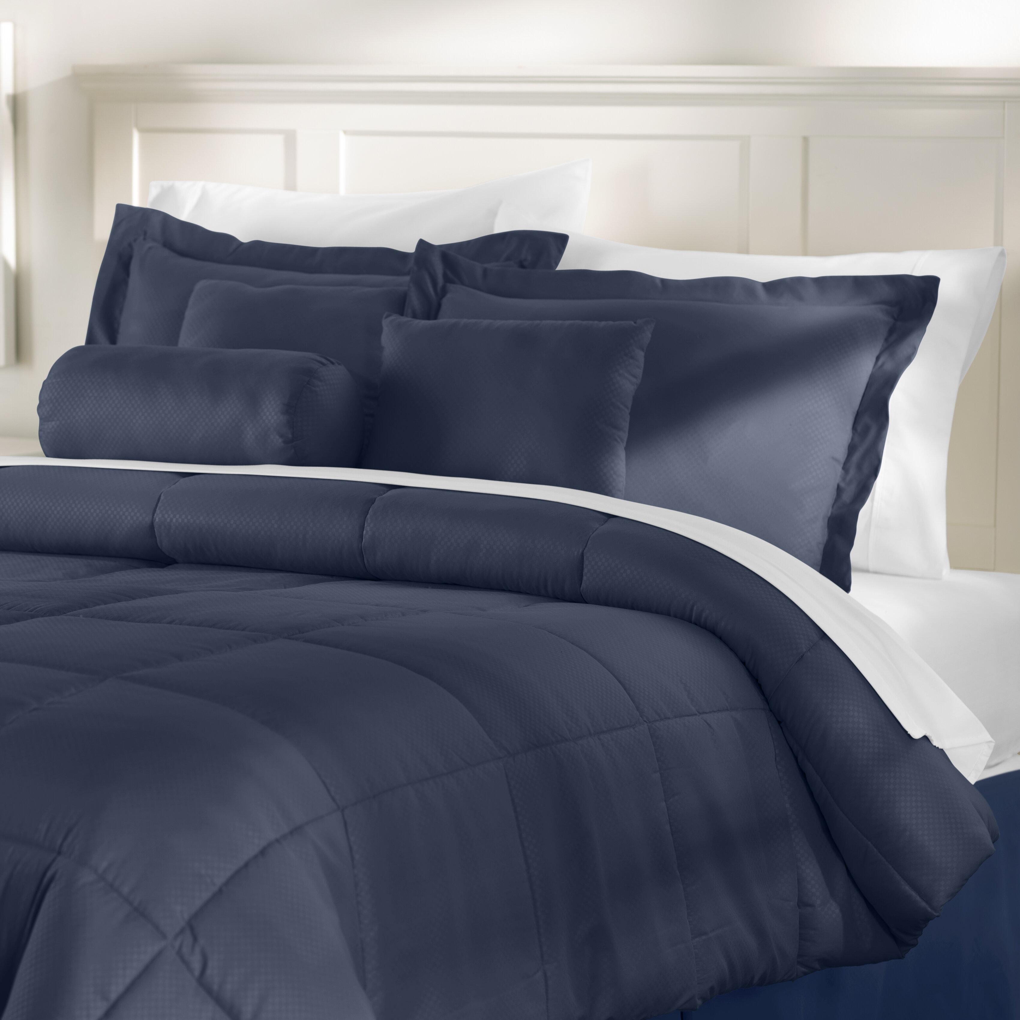 Winston Porter Reversible 7 Piece Comforter Set Reviews Wayfair