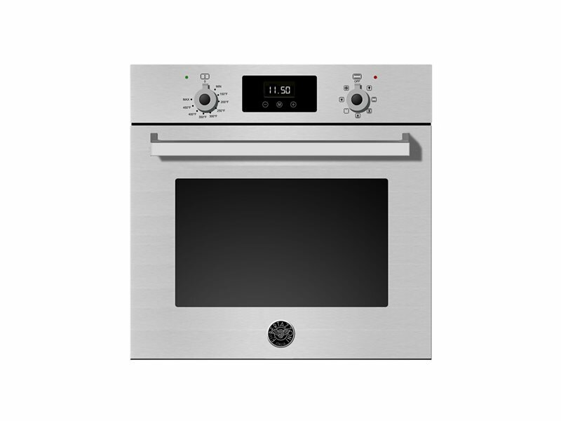 "Bertazzoni Pro Series 24"" Self Cleaning Convection Electric Single Wall Oven"