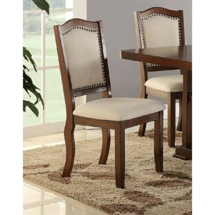 Ruggeri Contemporary Upholstered Dining Chair (Set of 2)