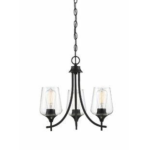 Hermitage Octave 3-Light Shaded Chandelier