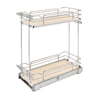 2 Tier Wire Organizer Pull Out Drawer