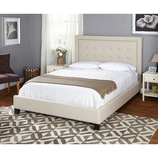 Queen Upholstered Panel Bed by TMS