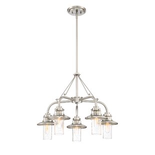 Breakwater Bay Quinault 5-Light Sputnik Chandelier