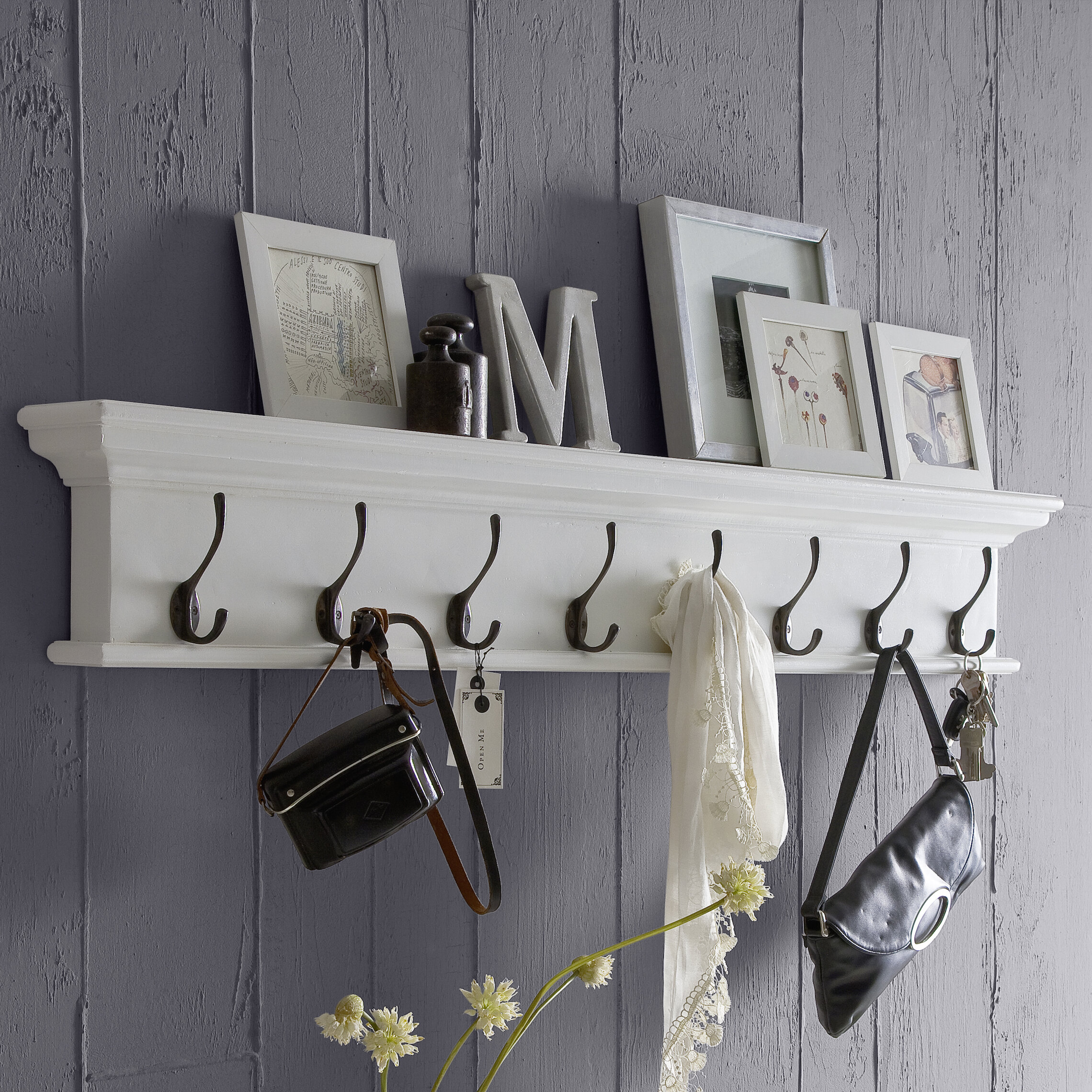 and coat hook with shelf rack wall racks unique baskets mounted hooks stunning