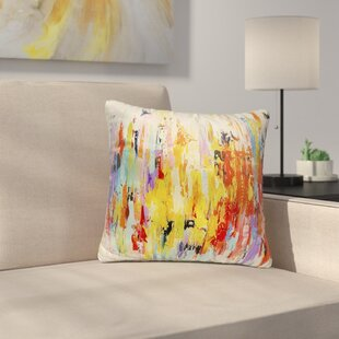 Sieber Abstract Indoor/Outdoor Throw Pillow