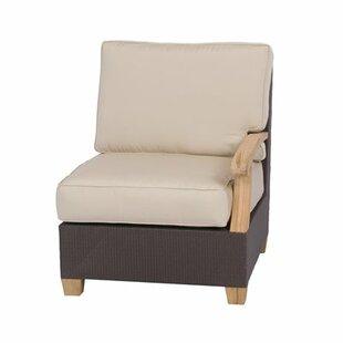 Three Birds Casual Ciera Teak Patio Chair with Sunbrella Cushions (Set of 2)