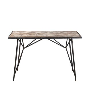Quintin Wood Iron Console Table By Williston Forge