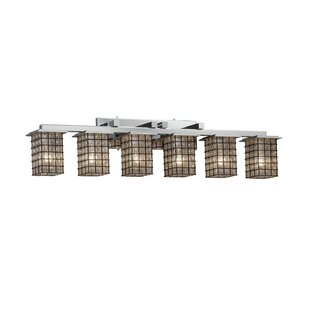 Williston Forge Grisby 6-Light Vanity Light