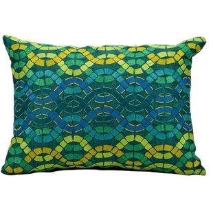 Michelle Tibetan Sheepskin Lumbar Pillow