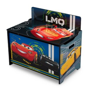Affordable Disney Pixar Cars Deluxe Toy Box By Delta Children