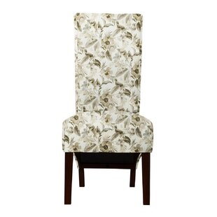 Ramon Miesha Fabric Parsons Chair (Set of 2) by Langley Street