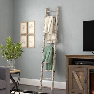 Wood 5.5 ft Decorative Ladder by Laurel Foundry Modern Farmhouse
