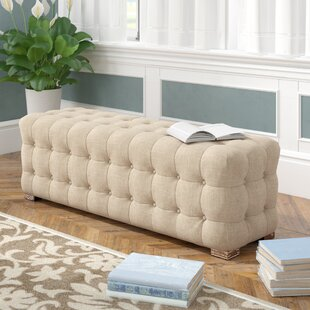 Three Posts Gowans Upholstered Bench