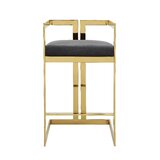 Kenzie 30 Bar Stool by Everly Quinn