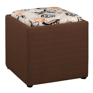 Paul Frank Storage Ottoman by Najarian Furniture