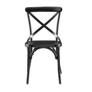 Greyleigh Windcrest Distressed Antique Metal Dining Chair (Set of 2)