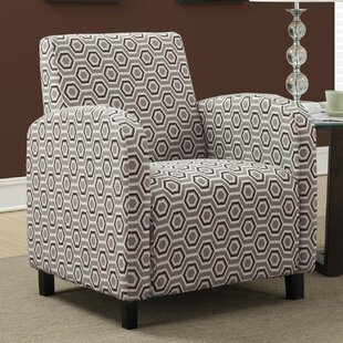 Hexagon Armchair by Monarch Specialties Inc.
