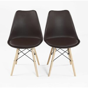 upholstered dining chair set of 2