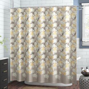 Price Check Coggins Cotton Shower Curtain ByAndover Mills