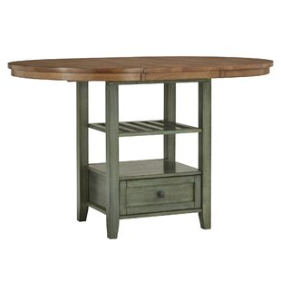 Brierfield Counter Height Extendable Dining Table by Three Posts