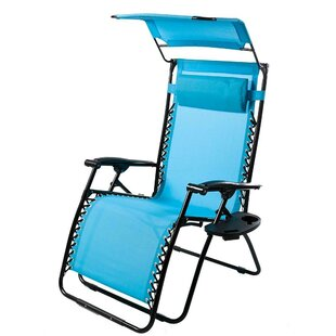 Deluxe Reclining Folding Zero Gravity Chair by Plow & Hearth