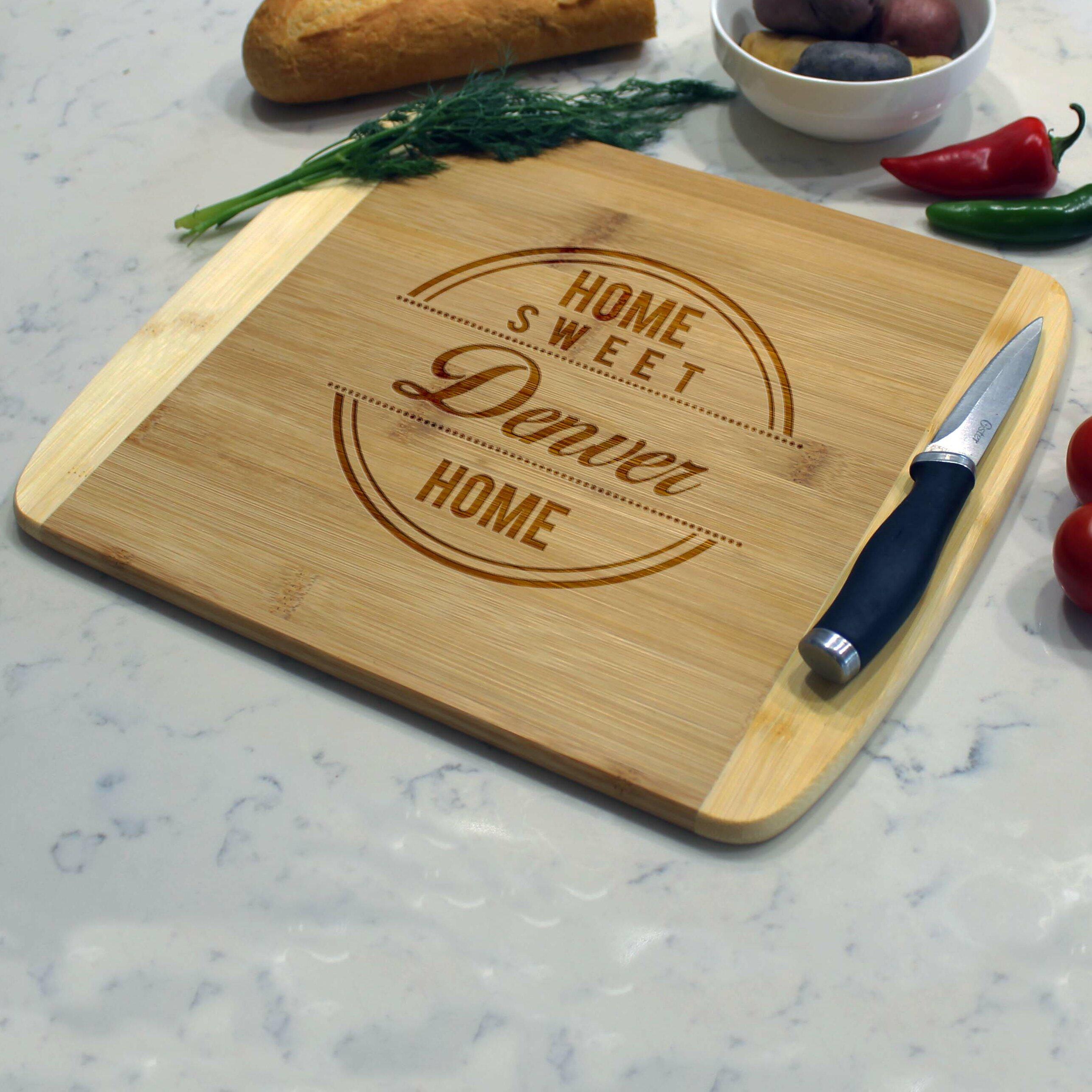 Etchey Bamboo Cutting Board Wayfair