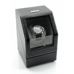 Find for Heiden Battery Powered Single Winder Watch Box By JP Commerce