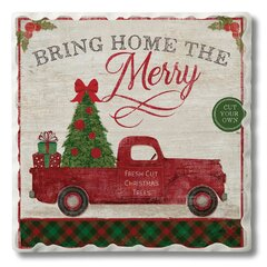 Square The Holiday Aisle Christmas Coasters You Ll Love In 2021 Wayfair