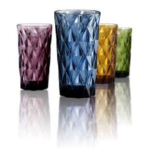Kaleb 15 oz. Highball Glass (Set of 4)