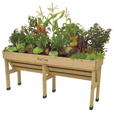 WallHugger Bed Wood Raised Garden VegTrug