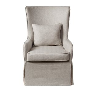 Inexpensive Regis Wingback Chair By Madison Park Signature