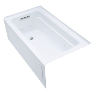 Comparison Archer Alcove 60 x 32 Whirpool Bathtub By Kohler