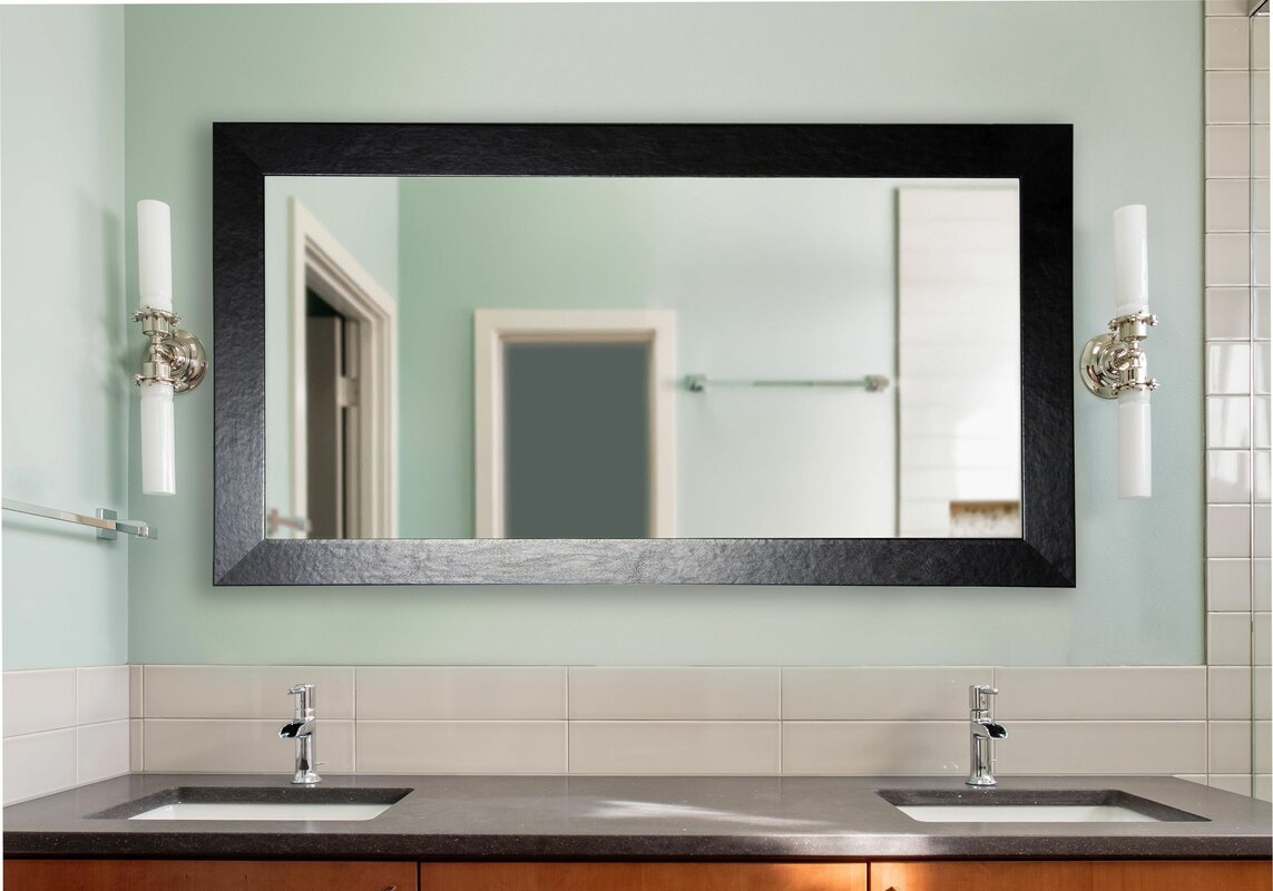 rayne mirrors double wide vanity wall mirror  wayfair - defaultname