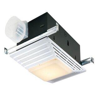 Best Reviews 70 CFM Bathroom Fan With Light By Broan