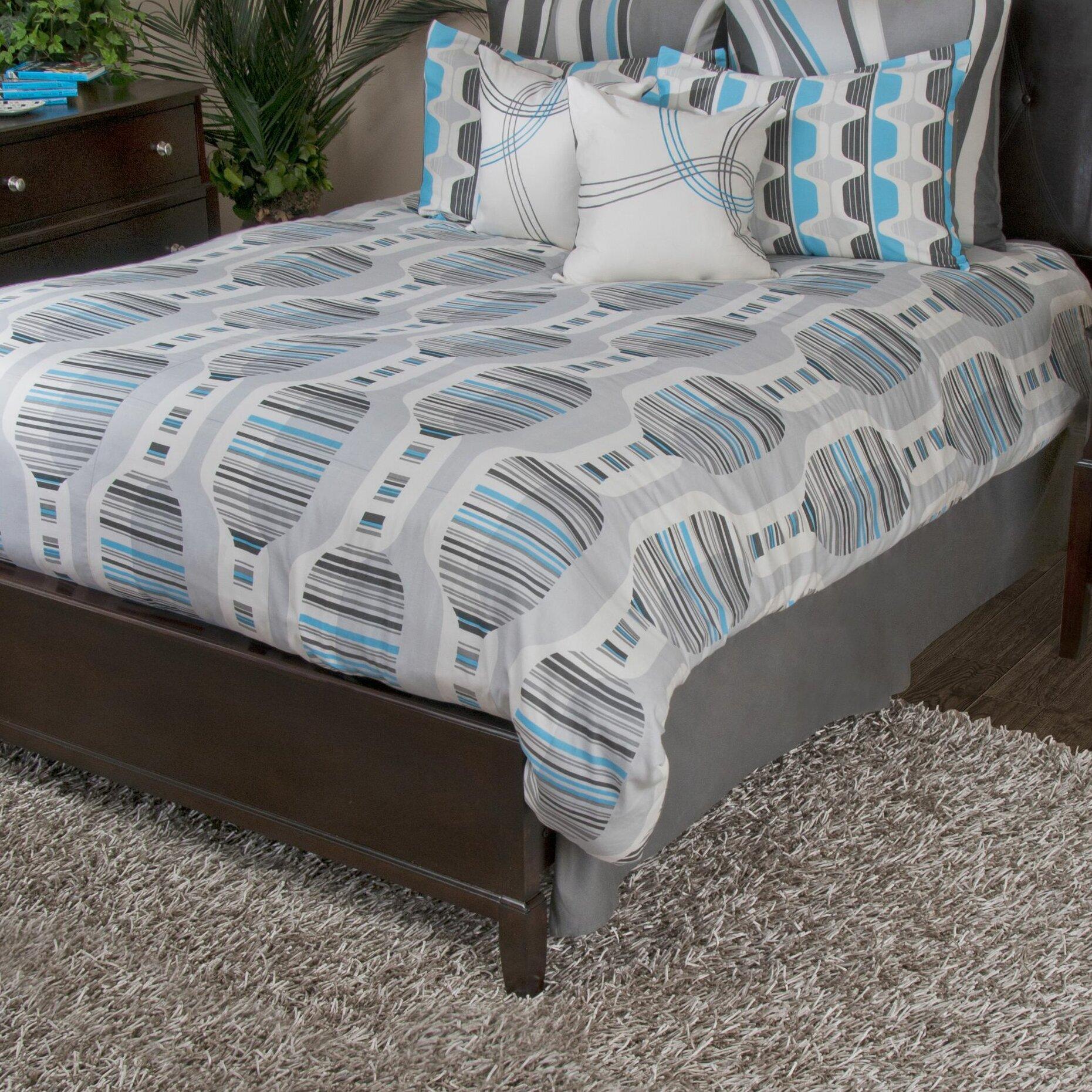 Rizzy Home Motion Comforter Set Wayfair
