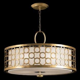 Fine Art Lamps Allegretto Silver 3-Light Pendant